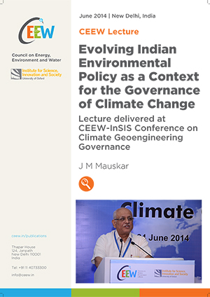 Evolving Indian Environmental Policy