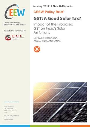 GST: A Good Solar Tax?