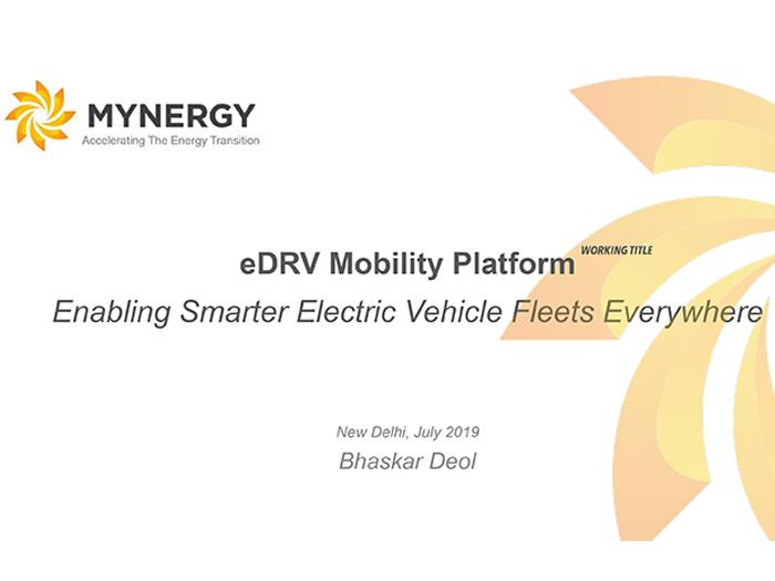 eDRV Mobility Platform